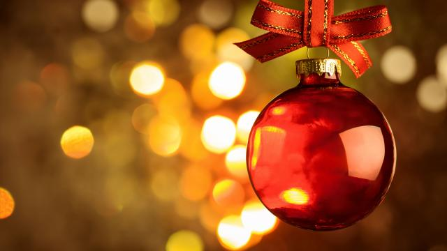 kerst warm bal